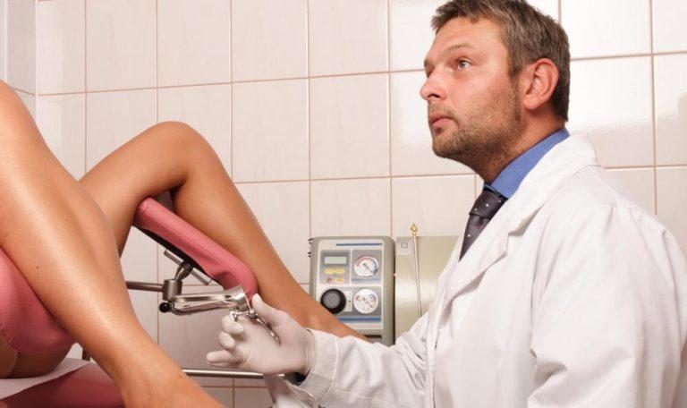 Девки на приеме у гинеколога