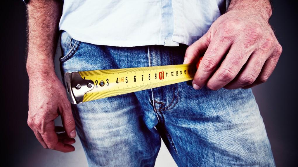 Маленьким считается пенис длиной до 7,5 сантиметров